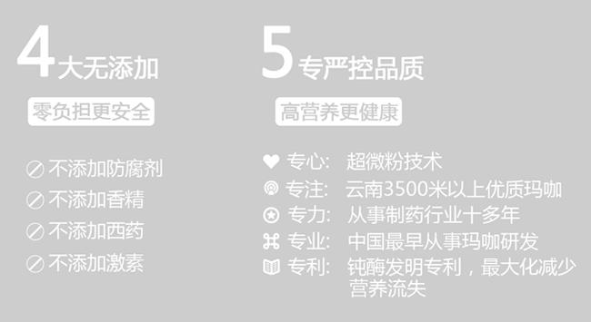 5专严控品质,4大无添加;零负担,更安全,高营养 更健康