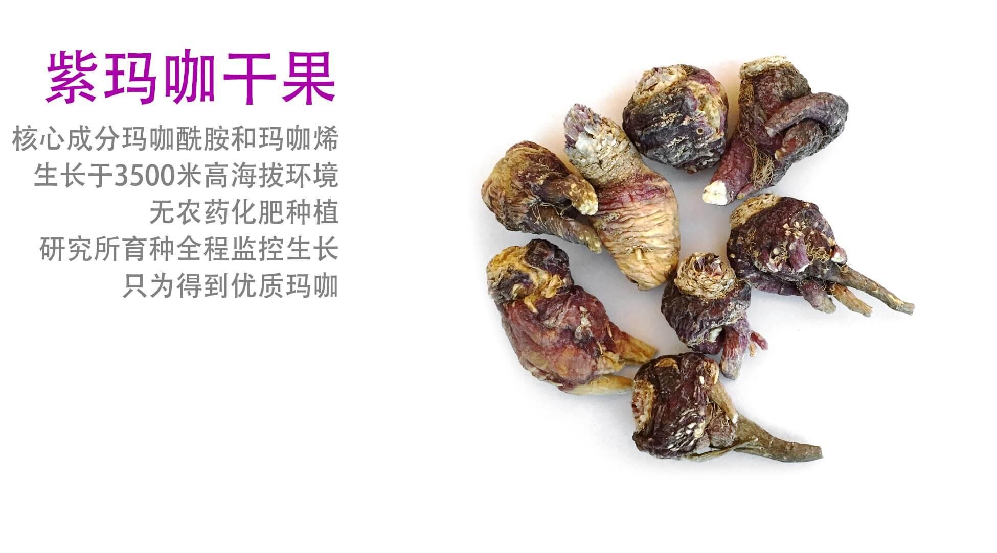 紫玛咖干果 50克装,云南高海拔珍贵紫玛咖